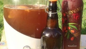 Kombucha Flavored with NingXia Red