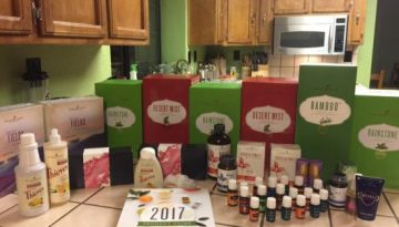 Christmas in July with Young Living Essential Oils