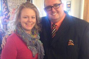 Tony Gore and Carmel Mooney