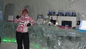 Quebec Ice Hotel in Canada
