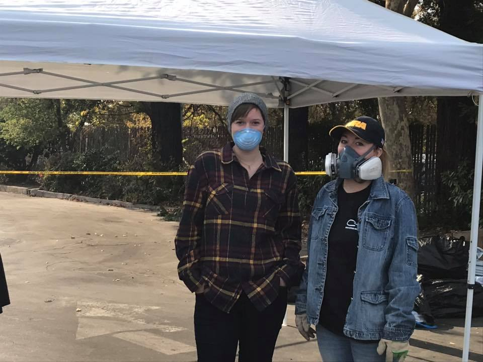 responders at Camp Fire in Chico and Paradise California