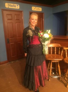 Carmel Mooney enjoys acting in local theater.