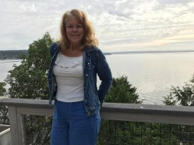 Carmel Mooney Visiting Washington for travel writing.