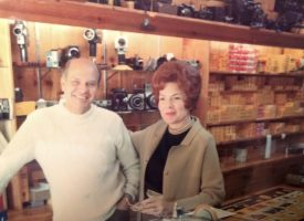 Dale and Rosa Lee Hale in Camera Craft in Carmel, California