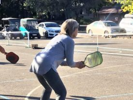 Pickleball seems to attract positive people.